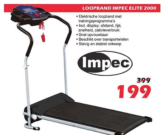 ITEK Loopband Impec Elite 2000