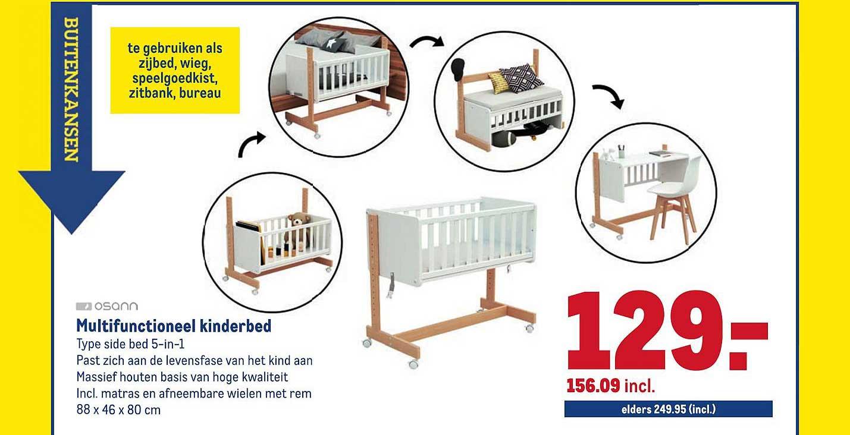 Makro Multifunctioneel Kinderbed