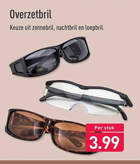Aldi Overzetbril
