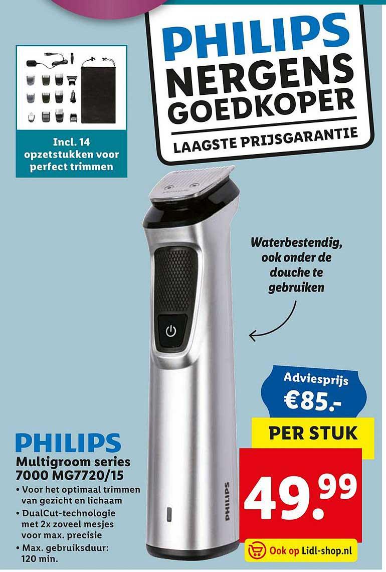 Lidl Philips Multigroom Series 7000 MG7720-15