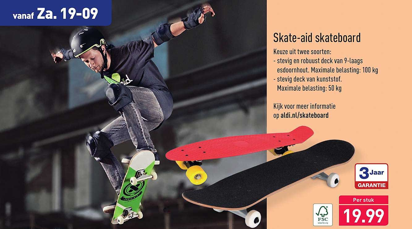 Aldi Skate-Aid Skateboard