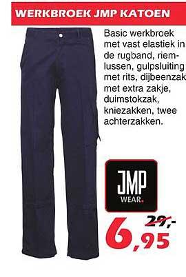 ITEK Werkbroek JMP Katoen