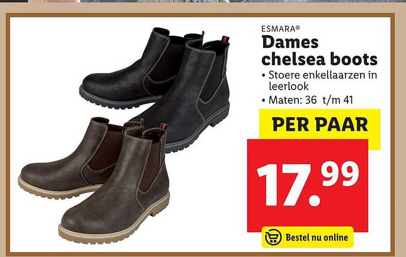 Esmara Dames Chelsea Boots Aanbieding bij Lidl Shop