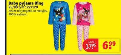 Kruidvat Baby Pyjama Bing