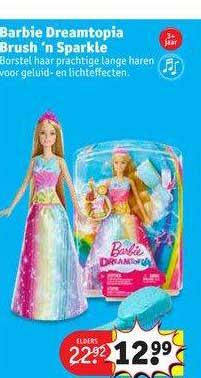 Kruidvat Barbie Dreamtopia Brush 'n Sparkle