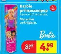 Kruidvat Barbie Prinsessenpop