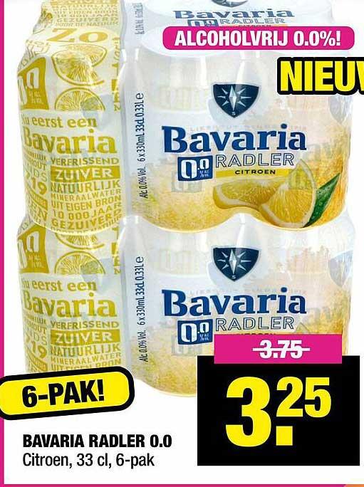Big Bazar Bavaria Radler 0.0 Citroen