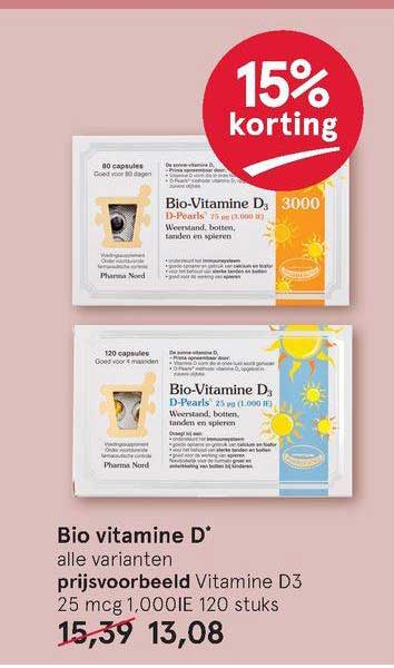 Etos Bio Vitamine D 15% Korting