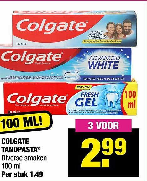 Big Bazar Colgate Tandpasta
