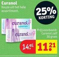 Kruidvat Curanol Zalf 25% Korting