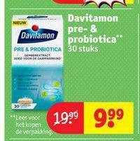 Kruidvat Davitamon Pre- & Probiotica