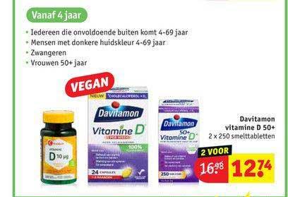 Kruidvat Davitamon Vitamine D 50+