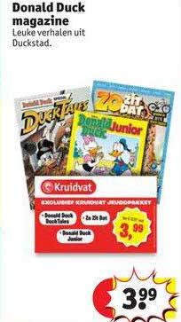 Kruidvat Donald Duck Magazine