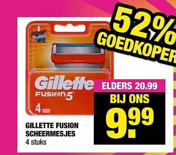 Big Bazar Gillette Fusion Scheermesjes