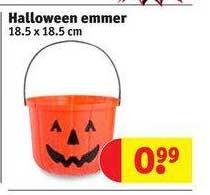 Kruidvat Halloween Emmer 18.5 X 18.5 Cm