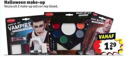 Kruidvat Halloween Make-Up