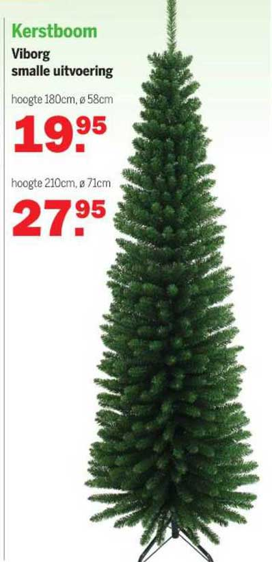Van Cranenbroek Kerstboom Viborg Smalle Uitvoering