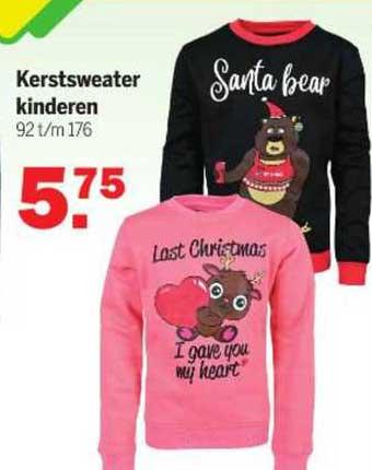 Van Cranenbroek Kerstsweater Kinderen