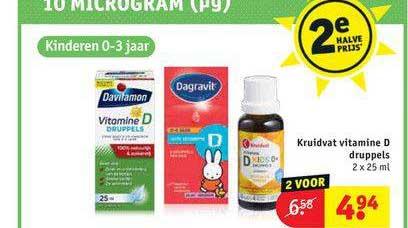 Kruidvat Kruidvat Vitamine D Druppels