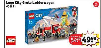 Kruidvat Lego City Grote Ladderwagen