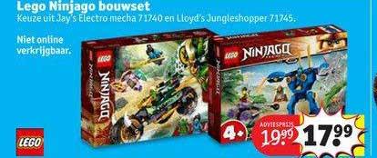 Kruidvat Lego Ninjago Bouwset