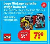Kruidvat Lego Ninjago Epische Strijd Bouset