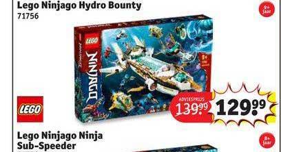 Kruidvat Lego Ninjago Hydro Bouty