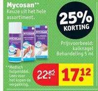 Kruidvat Mycosan Kalknagel Behandeling 5 Ml 25% Korting