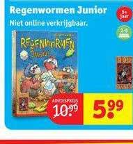 Kruidvat Regenwormen Junior