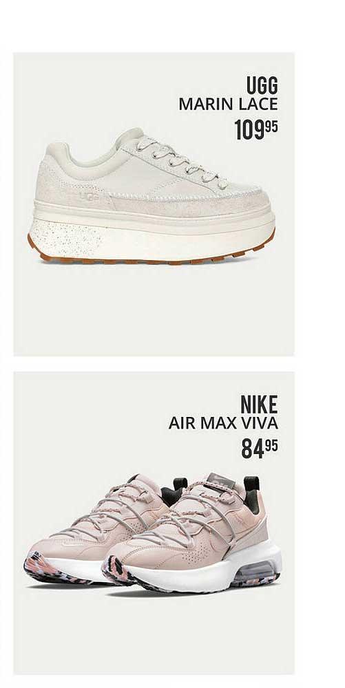 Plutosport Ugg Marin Lace Of Nike Air Max Viva