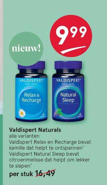 Etos Valdispert Natural Relax & Recharge Of Natural Sleep