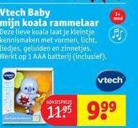 Kruidvat Vtech Baby Mijn Koala Rammelaar