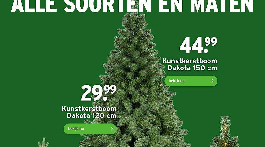 Gamma Kunstkerstboom Dakota 120 Cm Of 150 Cm