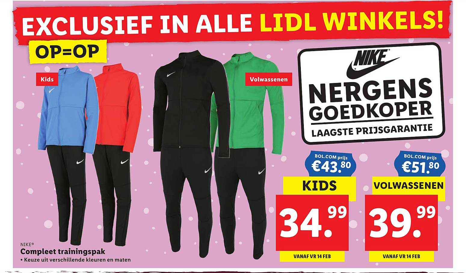Lidl Nike Trainingspak