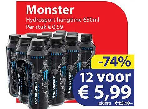 Die Grenze Monster Hydrosport Hangtime 650 Ml