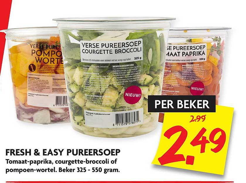 DekaMarkt Fresh & Easy Pureersoep