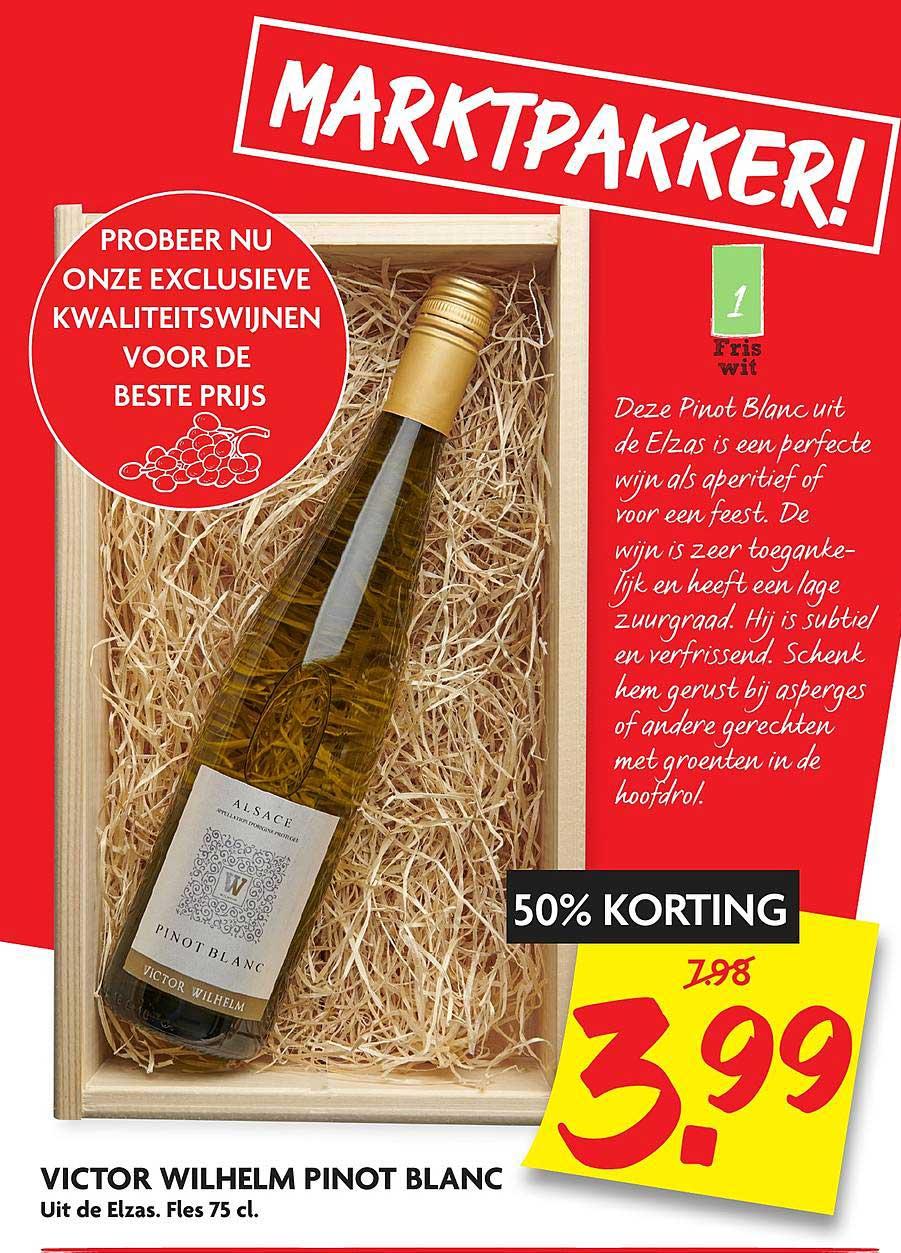 DekaMarkt Victor Wilhelm Pinot Blanc
