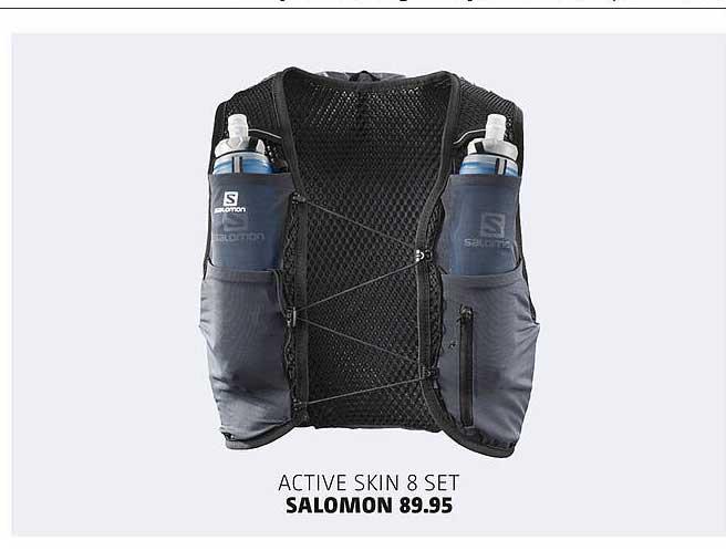 Bever Active Skin 8 Set Salomon