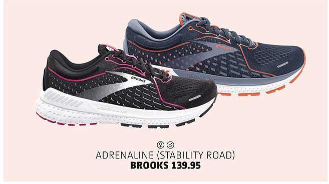 Bever Adrenaline (Stability Road) Brooks