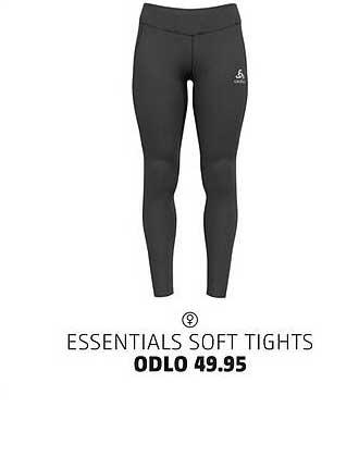 Bever Essentials Soft Tights Odlo
