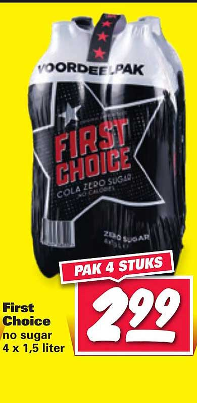 Nettorama First Choice No Sugar