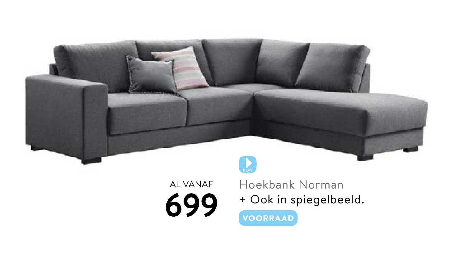 Profijt Meubel Hoekbank Norman