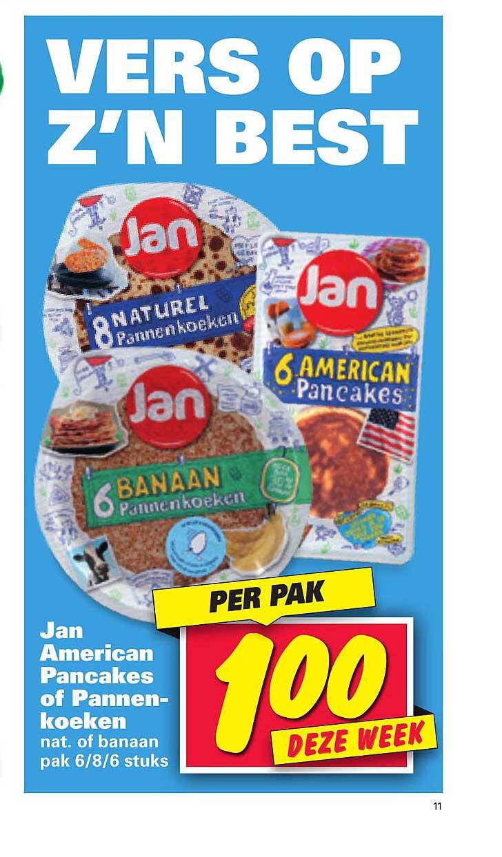 Nettorama Jan American Pancakes Of Pannenkoeken