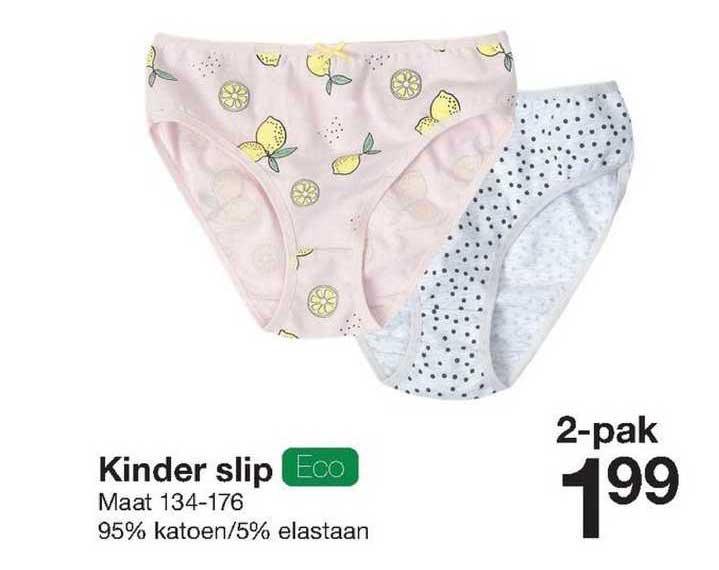 Zeeman Kinder Slip