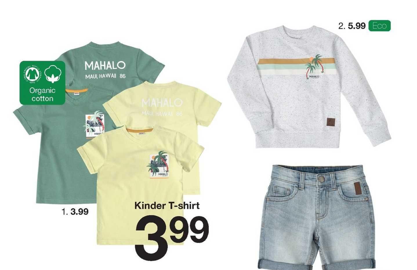 Zeeman Kinder T-Shirt