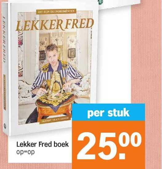 Albert Heijn Lekker Fred Boek