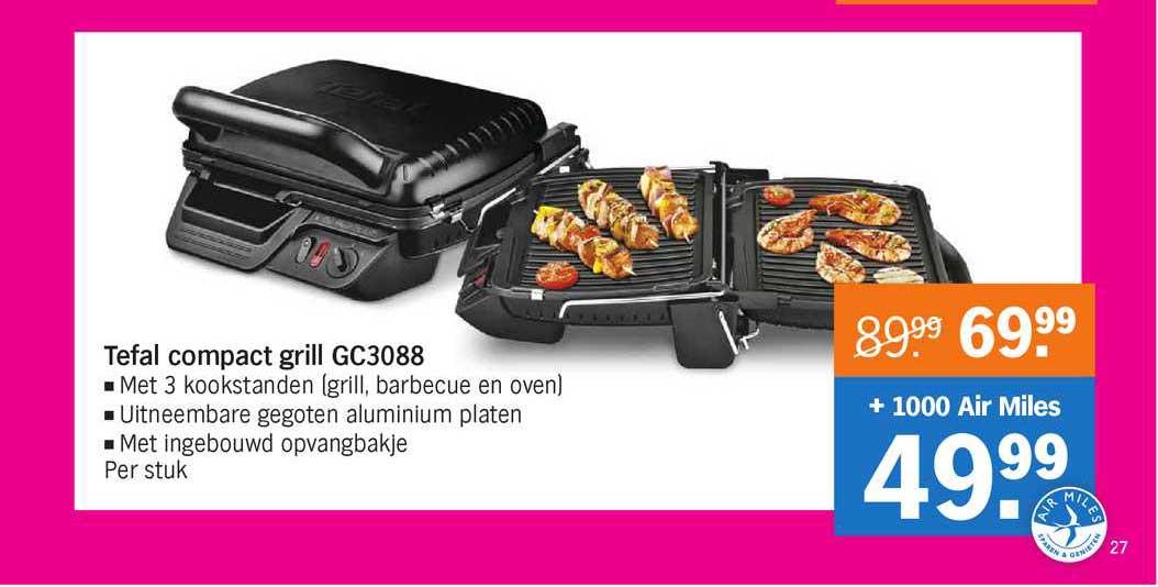 Albert Heijn Tefal Compact Grill GC3088