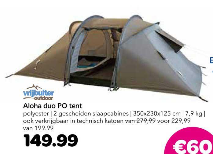 Vrijbuiter Aloha Duo Po Tent