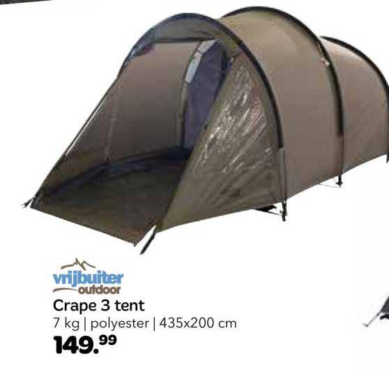 Vrijbuiter Crape 3 Tent
