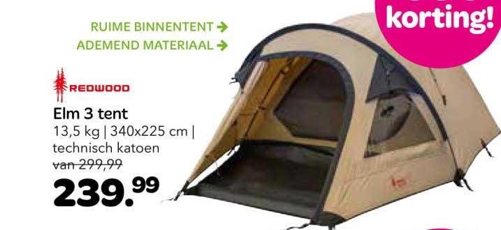 Vrijbuiter Elm 3 Tent